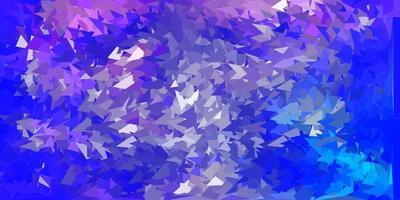 disegno a mosaico triangolo vettoriale viola chiaro.