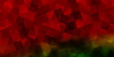 trama vettoriale multicolore scuro con stile poli con cubi.