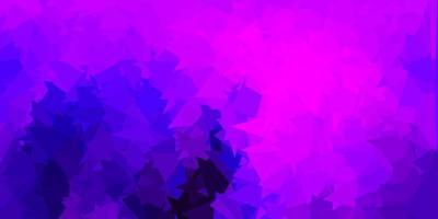 viola scuro, rosa triangolo vettore mosaico design.