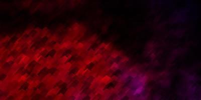 trama vettoriale rosa chiaro con esagoni colorati.