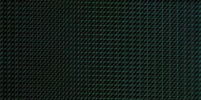 layout vettoriale verde scuro con linee.
