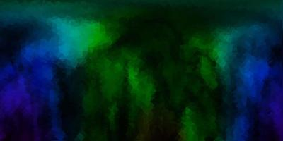 blu scuro, verde triangolo astratto vettore texture.