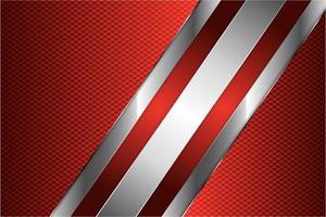 sfondo rosso metallizzato vettore