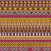 set di texture tribale vettoriale senza soluzione di continuità. motivi etnici gruppo seamless texture. sfondo etnico vintage senza soluzione di continuità.