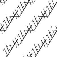 vettore seamless texture di sfondo pattern. colori disegnati a mano, neri, bianchi.