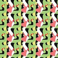 vettore seamless texture di sfondo pattern. disegnato a mano, colorato.