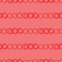 vettore seamless texture di sfondo pattern. disegnati a mano, colori rossi.