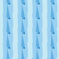 vettore seamless texture di sfondo pattern. disegnati a mano, colori blu.