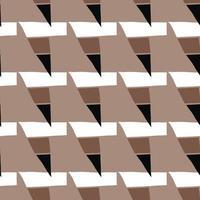 vettore seamless texture di sfondo pattern. colori disegnati a mano, marroni, neri, bianchi.