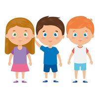 simpatico personaggio avatar di bambini piccoli