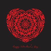 Sfondo decorativo cuore per San Valentino