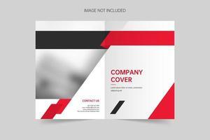 modello di vettore di copertina brochure creativa