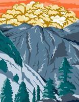 parco nazionale di kings canyon nella sierra nevada fresno
