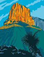 parco nazionale delle montagne guadalupe con il picco di el capitan