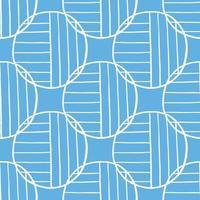 vettore seamless texture di sfondo pattern. colori disegnati a mano, blu, bianchi.