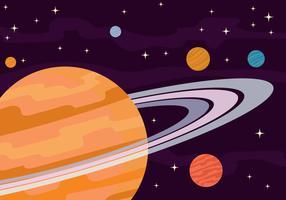 Anelli di Saturno Illustrazione