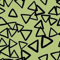 vettore seamless texture di sfondo pattern. colori disegnati a mano, verdi, neri.