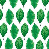 sfondo di foglie naturali icone