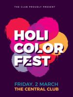 Poster di Holi Festival