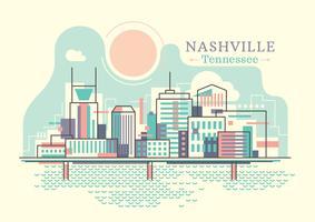 Nashville vettore