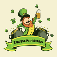 Illustrazione di St Patricks Day