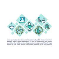 icona del concetto di trattamento CFS con testo