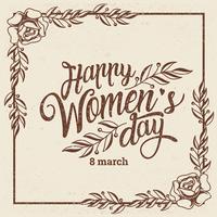 Sfondo di Giornata internazionale della donna vettore
