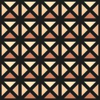 ornamento vettoriale seamless pattern. moderna struttura elegante. ripetendo la griglia quadrata geometrica. design grafico semplice. geometria sacra hipster alla moda