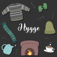 hygge time vector
