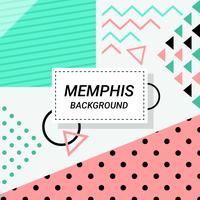 Sfondo astratto di Memphis