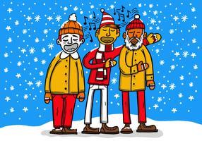 Carolers di Natale