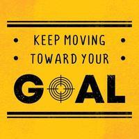 poster di citazione motivazionale, motivazione con parole per il successo. vettore