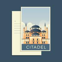 Cartoline del mondo Citadel Vector