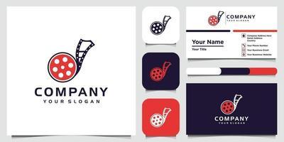 modelli di design del logo fotografico e biglietti da visita