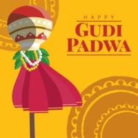 Gudi Padwa Greeting Card