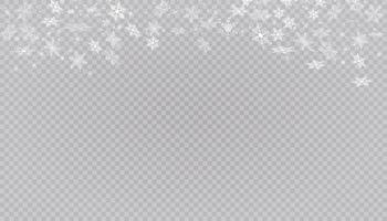 fiocchi di neve bianca sullo sfondo.