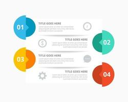 progettazione dell'illustrazione di vettore della raccolta di infographics di affari