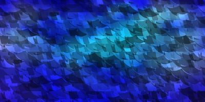trama vettoriale rosa scuro, blu con stile triangolare.