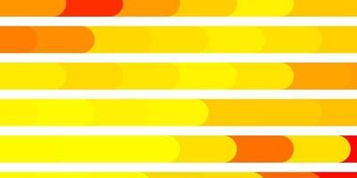 trama vettoriale arancione chiaro con linee.