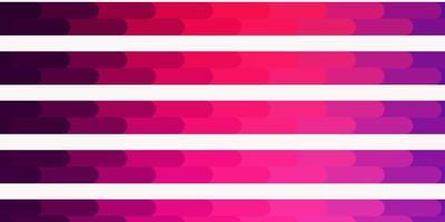 modello vettoriale viola chiaro, rosa con linee.
