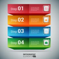 Elementi di design infografico vettore