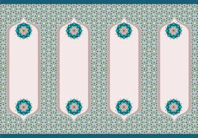 islamic border vol 2 vector