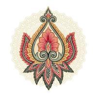 elementi floreali ornamentali