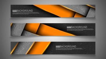 impostare lo sfondo del banner per il tuo design. illustrazione grafica vettoriale. vettore
