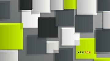 sfondo geometrico astratto. quadrati 3d sovrapposti. illustrazione vettoriale per carta da parati, banner, sfondo, carta, pagina di destinazione, ecc