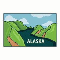 Cartolina dell'Alaska