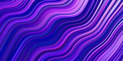 layout vettoriale viola chiaro, rosa con linee ironiche.