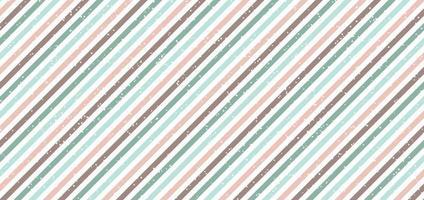 astratto classico stile retrò strisce diagonali sfondo di colore pastello con puntini bianchi sparsi vettore