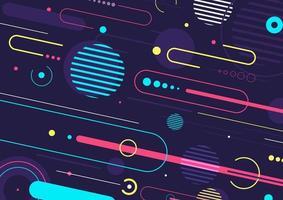 creativo astratto dinamico elementi geometrici pattern design sfondo