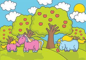 Vettore di unicorno